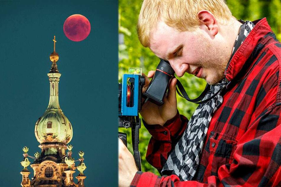 Sehbehinderter Fotograf Justus Steinfeldt: Erstmals werden meine Bilder ausgestellt