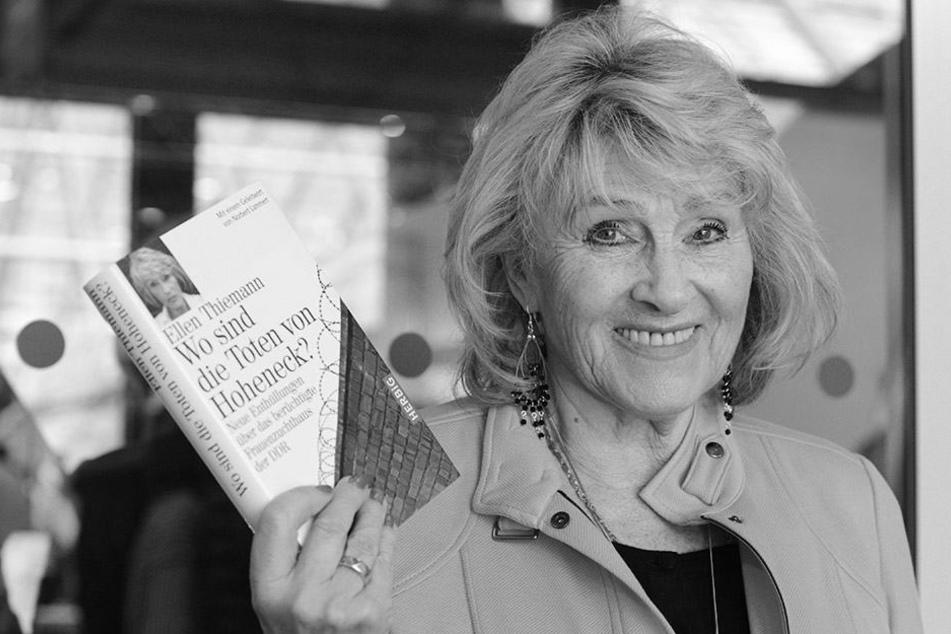 Sie saß im DDR-Frauenknast Hoheneck: Ellen Thiemann (†80) ist tot