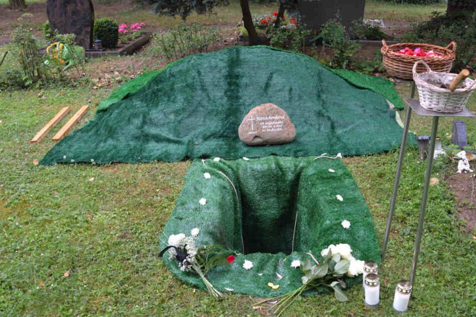 Das Baby wurde am 29. Juni auf dem Weißenfelser Friedhof beigesetzt. Die Stadt hatte sich um die Beerdigung gekümmert.