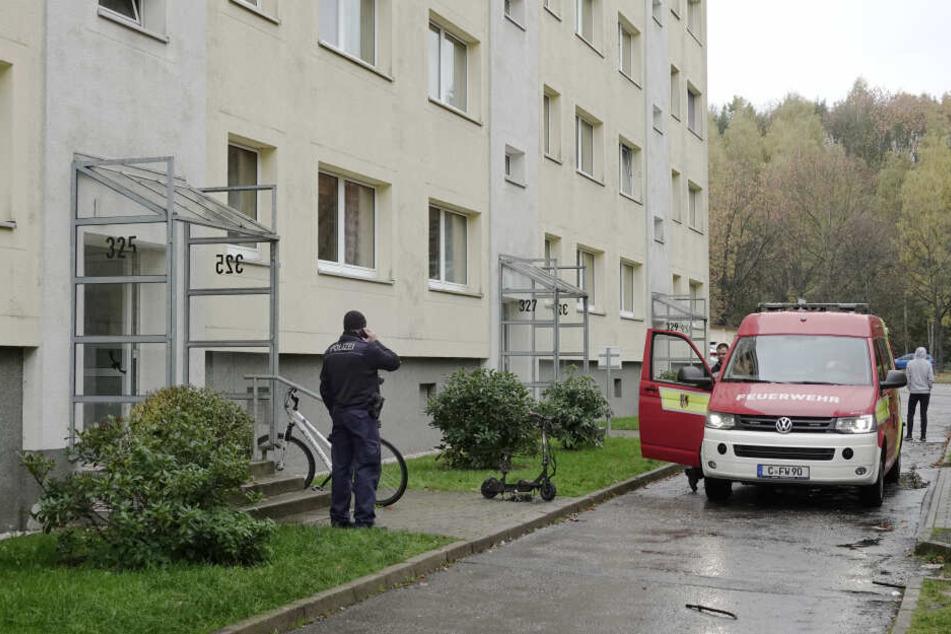 Die Feuerwehr musste in die Straße Usti nad Labem ausrücken.