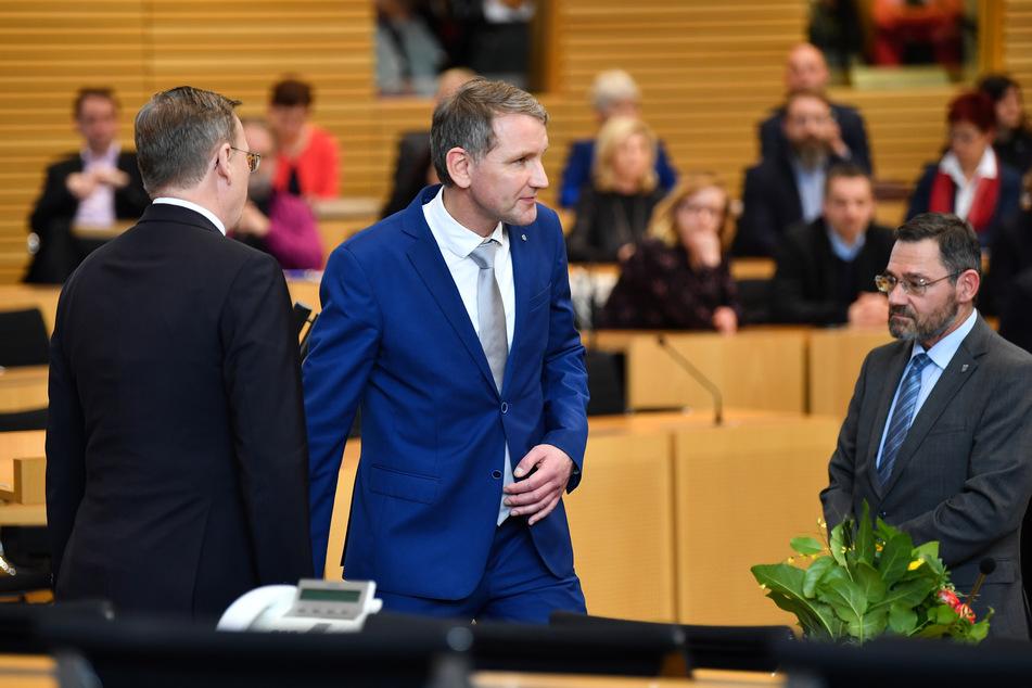 Bodo Ramelow weigerte sich, Björn Höcke die hat zu geben.