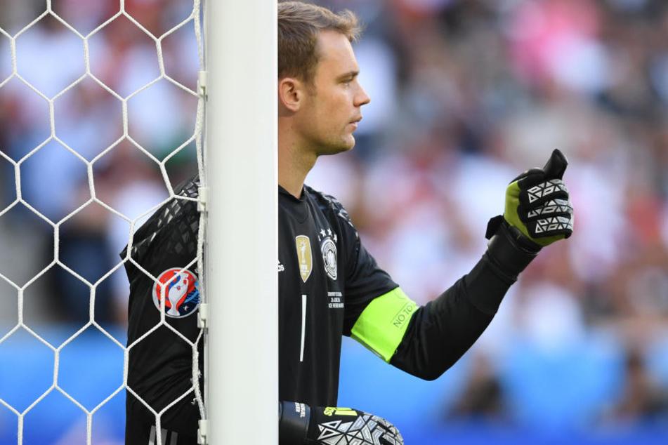 Bayern-Keeper Manuel Neuer muss sich auch 2019 keine Sorgen machen. (Archivbild)