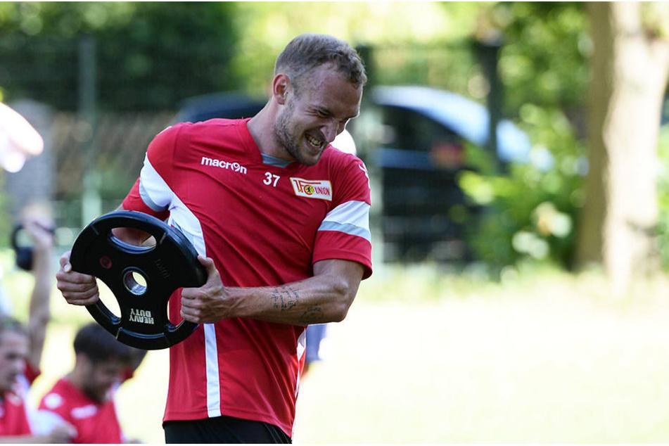 Toni Leistner freut sich auf das Wiedersehen mit Dynamo Dresden am Montag in Berlin.