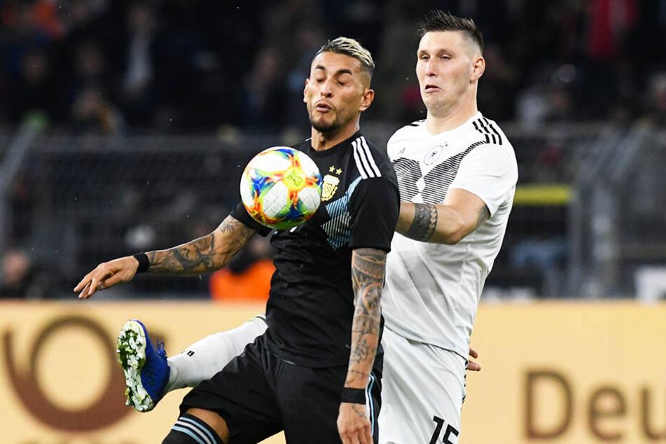 Niklas Süle und die DFB-Elf schenkten gegen Argentinien noch eine 2:0-Führung her.