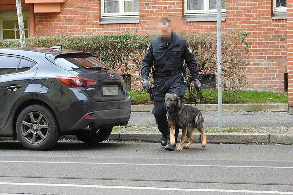 Am Dienstag fand die Polizei in Leipzig-Mockau neben dem per Haftbefehl Gesuchten auch allerlei verbotene Substanzen.