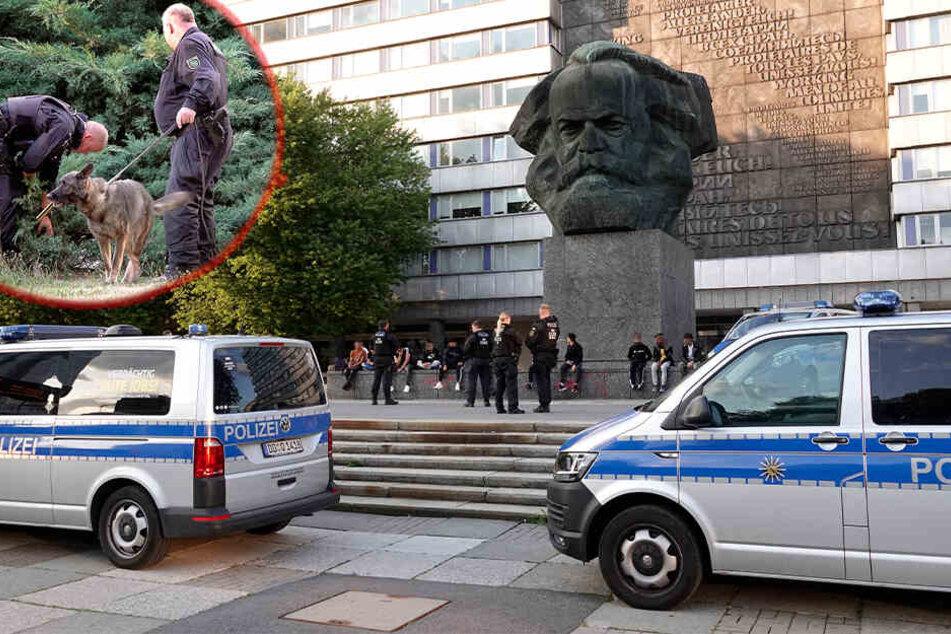 Stundenlange Razzia in Chemnitz: Polizei macht Jagd auf Kriminelle
