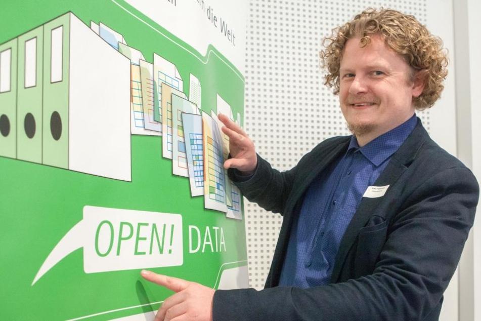 IT-Unternehmer und Stadtrat Lars Fassmann (40, Piraten) erhofft sich eine Erleichterung der politischen Arbeit.