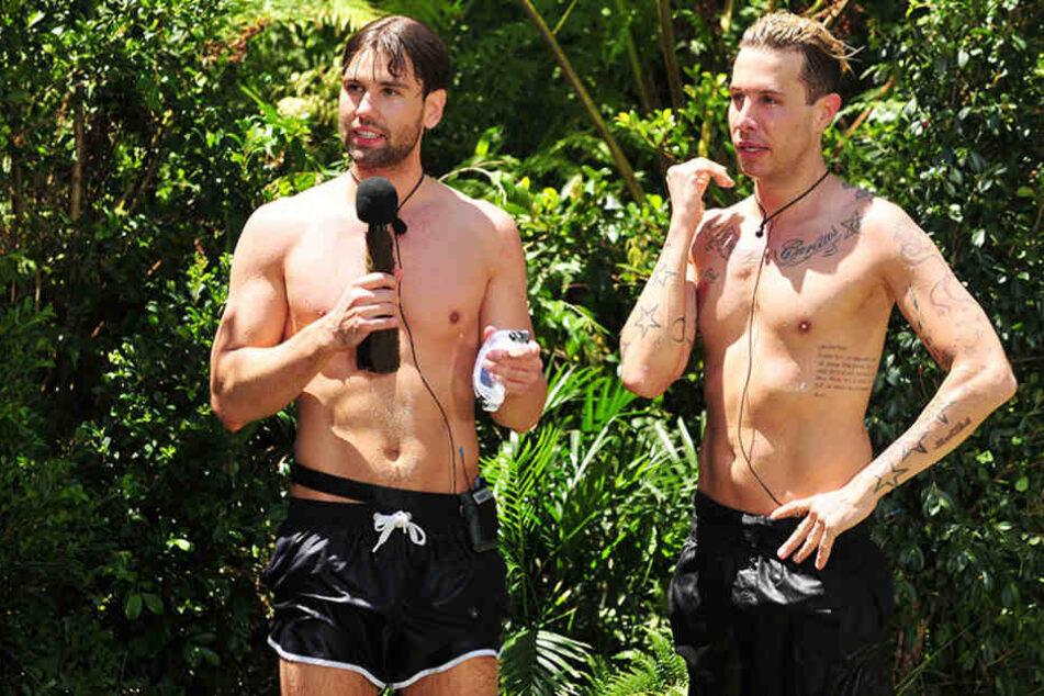 """Knallharte Konkurrenten: Alexander """"Honey"""" Keen (34, l.) und Florian Wess (36)."""