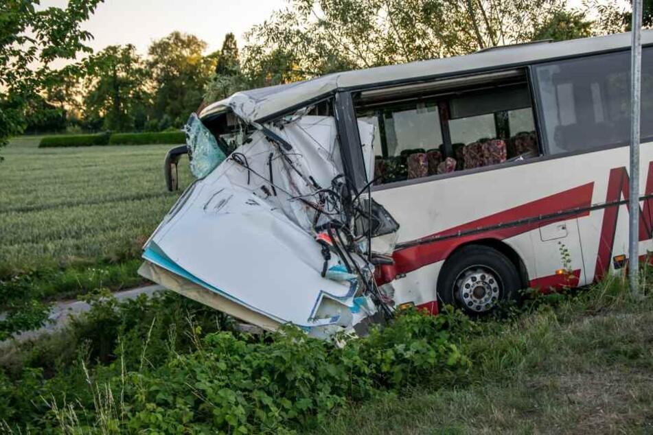 Über 40 Menschen wurden durch den Unfall verletzt.