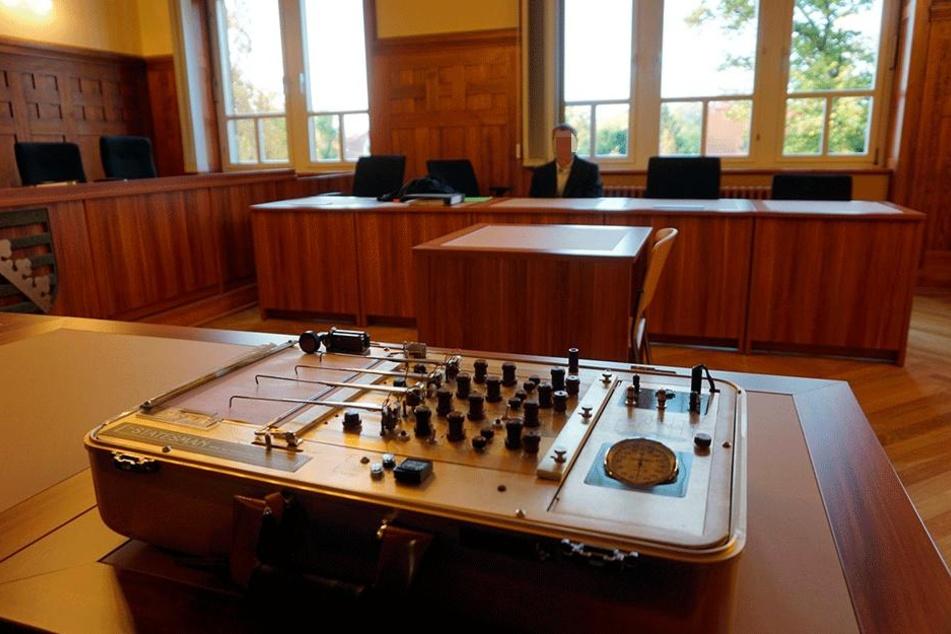 Dieser Polygraf - umgangsprachlich: Lügendetektor - kam im Prozess in Bautzen  zum Einsatz.