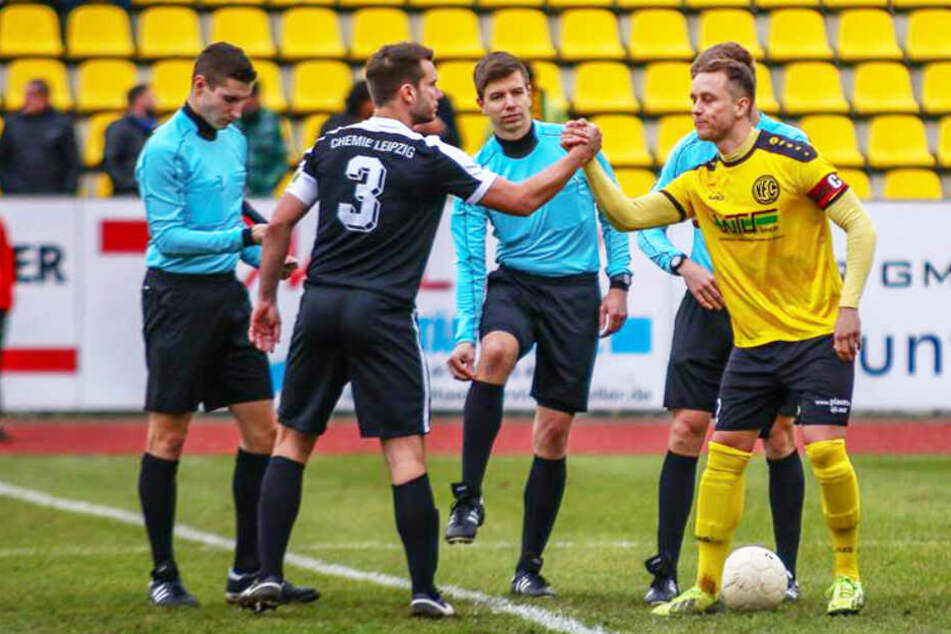 Mit 0:0 trennten sich die Grün-Weißen vom Gegner VFC Plauen.