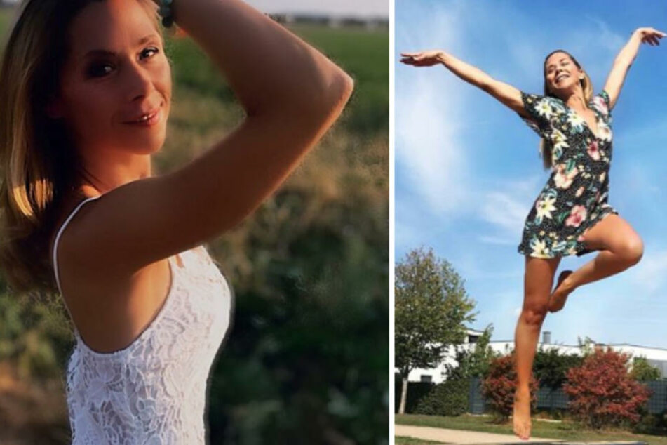 50.000 Follower: Tanja Szewczenko hebt ab (re.).
