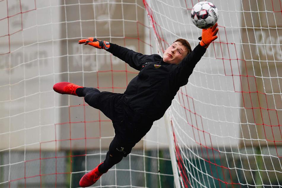 Markus Schubert wurde bei Dynamo Dresden gut ausgebildet und ist ein großes Torwart-Talent.