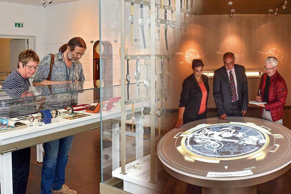 Glashütte und sein schickes Uhrenmuseum: Die Zeit ist reif für eine Party