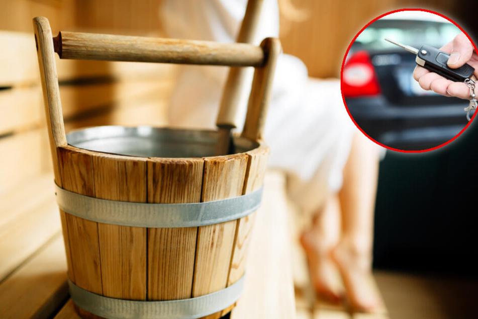 Die Autoschlüssel wurden aus aufgehebelten Schließschränke gestohlen. (Symbolbild)