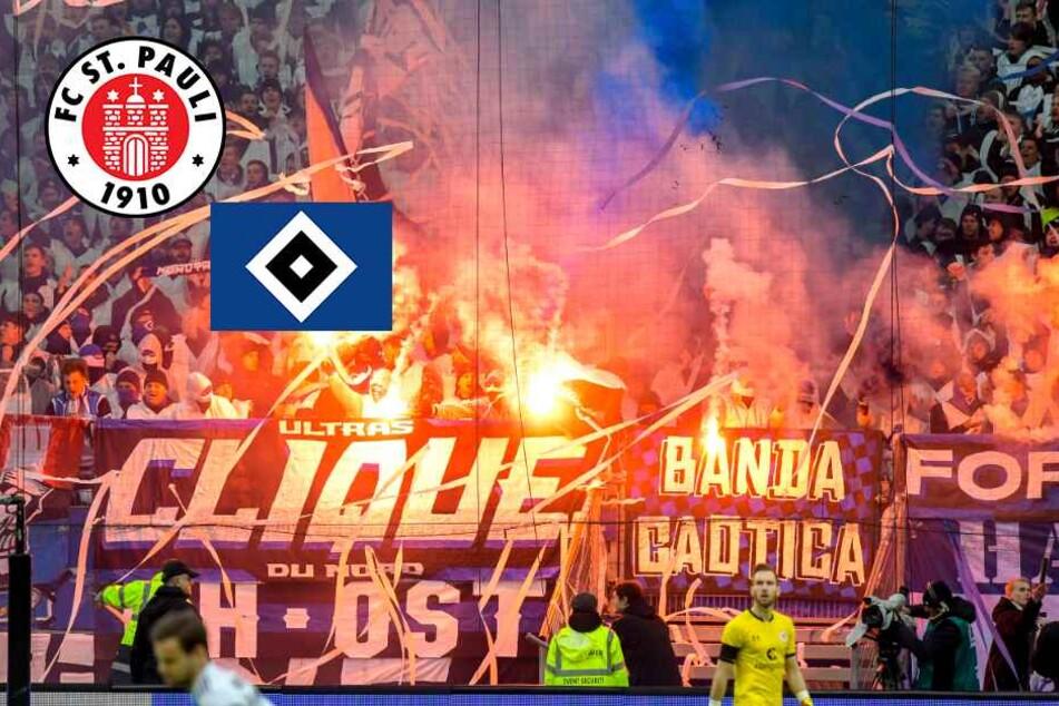 Derby-Eskalation: St. Pauli-Ultras stürmen Block, HSV-Fans zünden Pyro