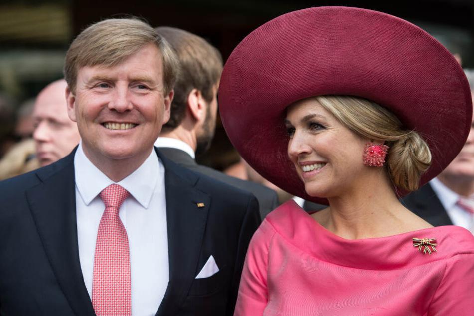 Das niederländische Königspaar besucht Bremen.