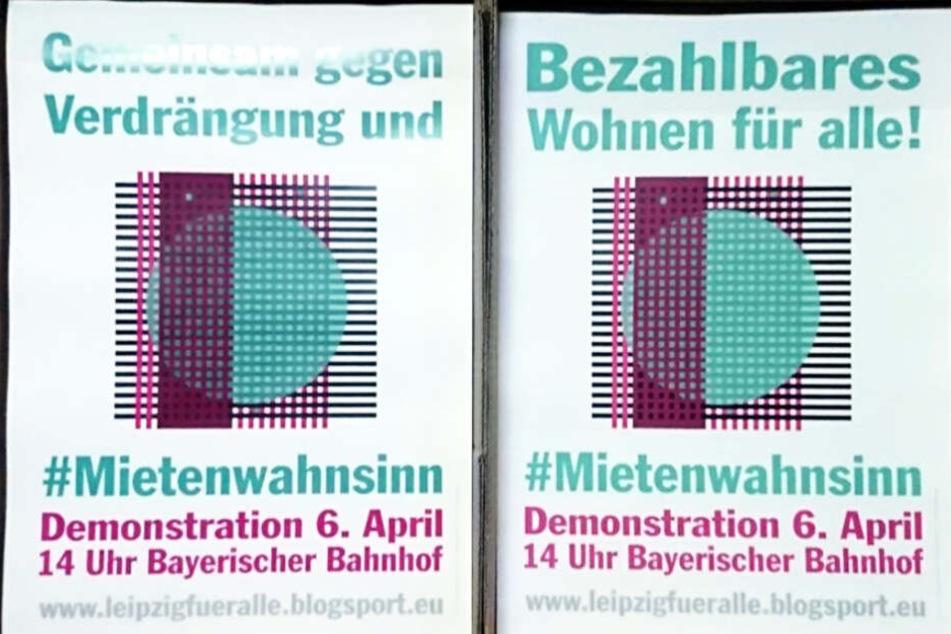 Um 14 Uhr soll die Demonstration auf dem Bayerischen Bahnhof starten.