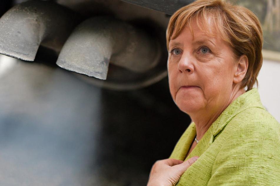 """Die Autobranche habe einen """"nicht zu vernachlässigenden Schaden"""" riskiert, meint Angela Merkel (63, CDU)."""