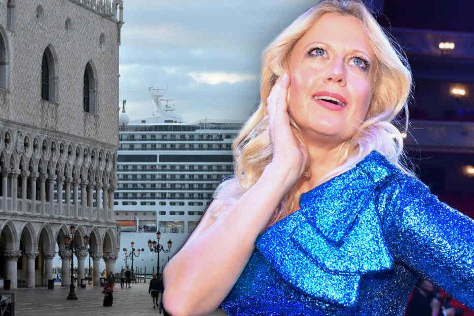 """""""Umweltsünder"""": Barbara Schöneberger wird Kreuzfahrt-Kapitän und kassiert Shitstorm"""