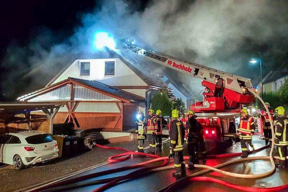 Die Feuerwehr hatte den Brand schnell unter Kontrolle.