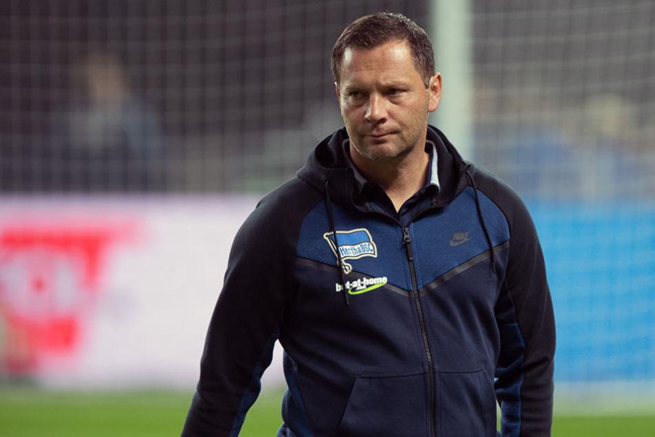 Trainer Pal Dardai setzt auch in Mainz auf Rotation.