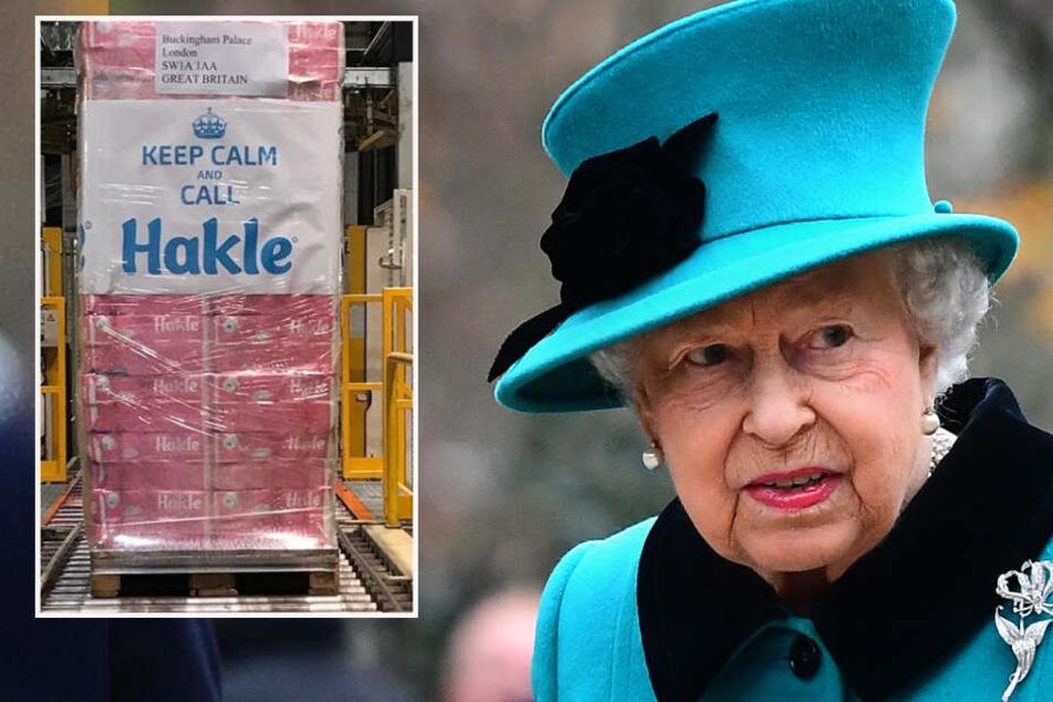 Geht der Queen das Klopapier aus? Hilfe kommt aus Deutschland!