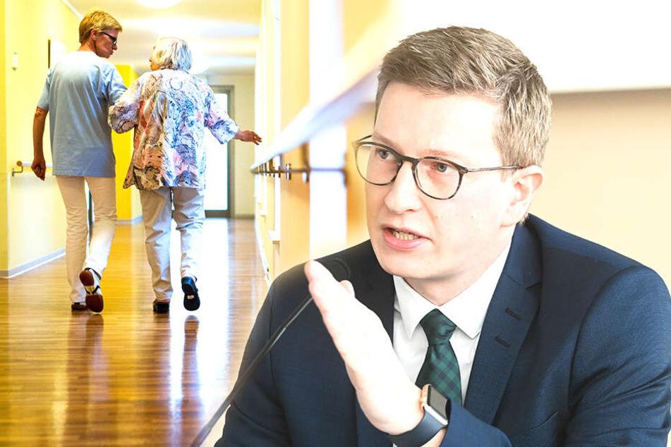 Sachsen plant Pflegewohngeld, weil Kosten für Heimplätze explodieren