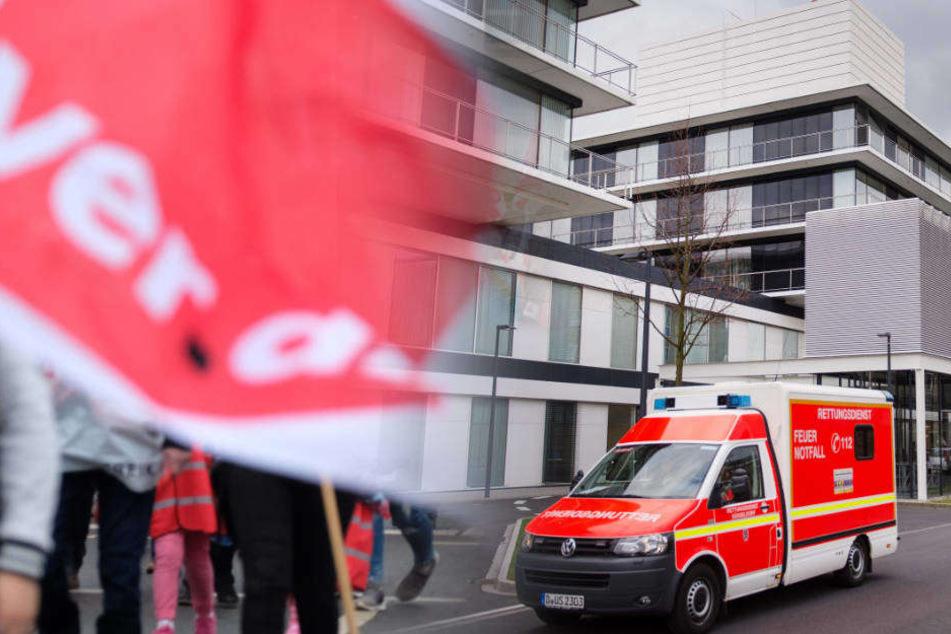 Zu wenig Personal: Verdi droht Unikliniken mit intensivem Streik
