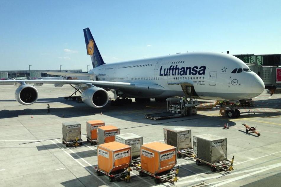 91 Passagiere saßen an Bord der Lufthansa-Maschine (Symbolbild).