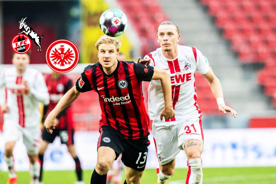 1. FC Köln erkämpft ersten Punkt, Frankfurt bleibt oben dran