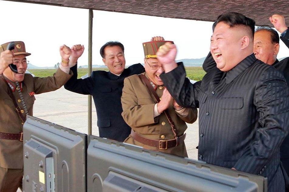 Die Provokation geht weiter. Am Nachmittag feuerte Nordkorea eine Interkontinentalrakete ab. (Archivbild).
