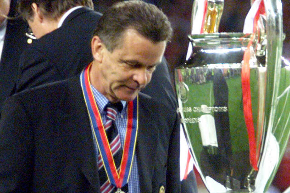Ottmar Hitzfeld und der FC Bayern unterlagen im Jahr 1999 Manchester United.
