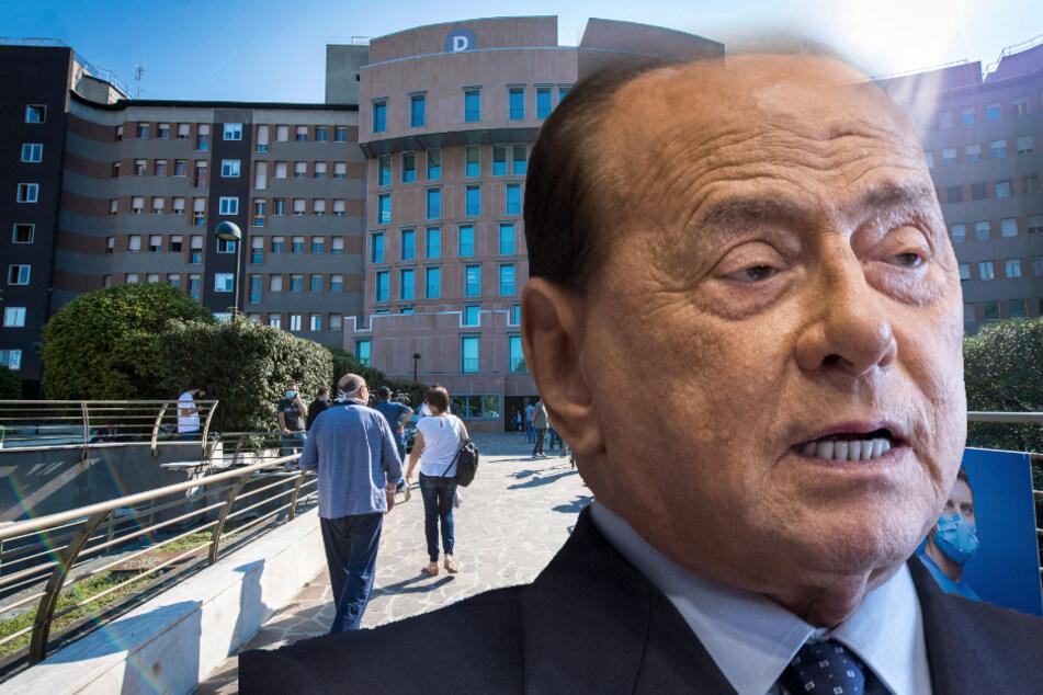 Silvio Berlusconi erholt sich nach Corona-Infektion im Krankenhaus