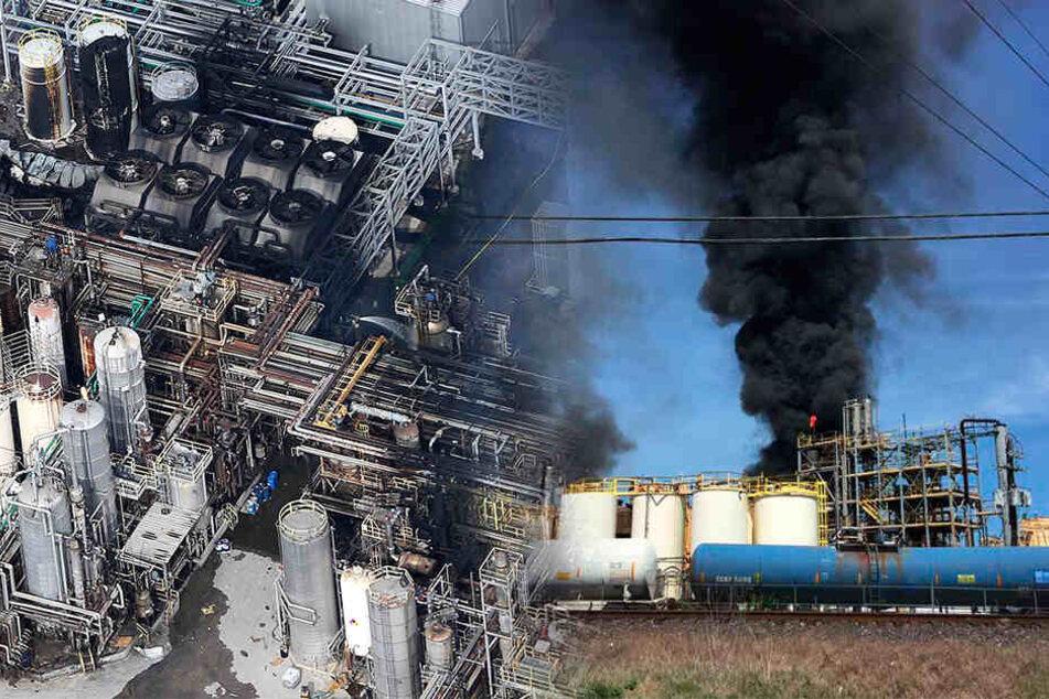 Toter und Verletzte! Schon wieder Großbrand in Chemiefabrik