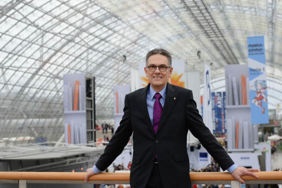 Die Leipziger Buchmesse wird rechte Verlage nicht von vornherein ausschließen, sagte Messe-Chef Oliver Zille.