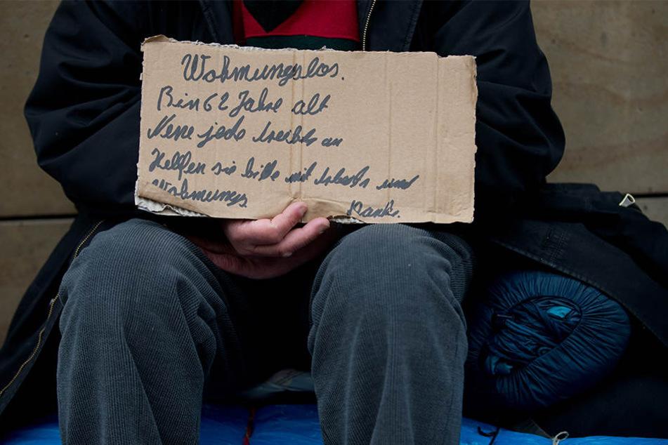 Laut den Grünen ist die Situation für wohnungslose Menschen in Leipzig nahezu aussichtslos geworden.