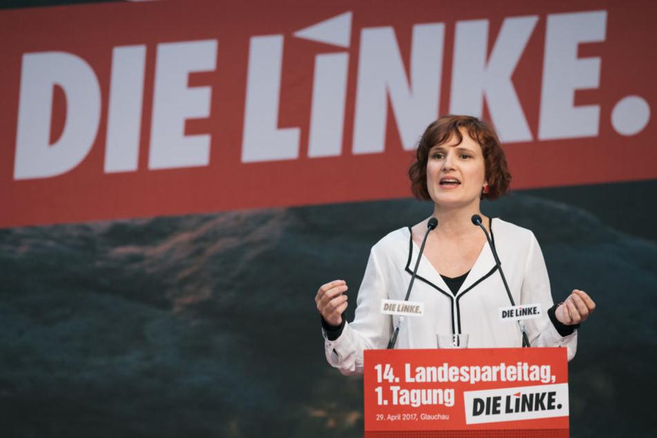 Katja Kipping wurde zur Spitzenkandidatin gewählt.