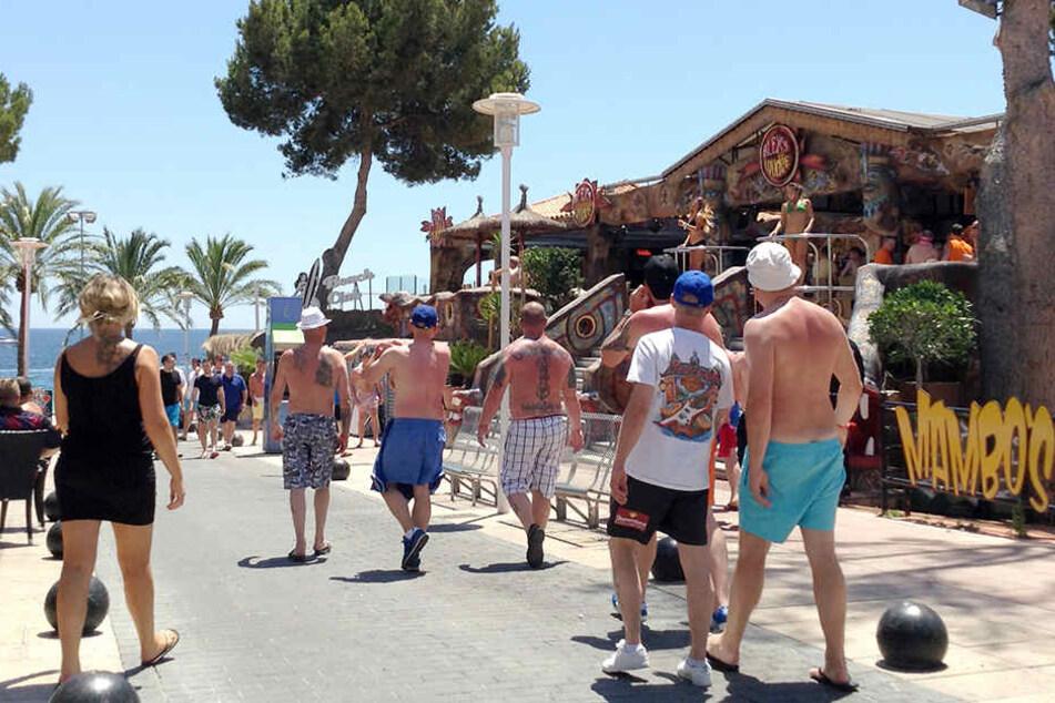 Auf Mallorca ist die Party-Stimmung immer gut!
