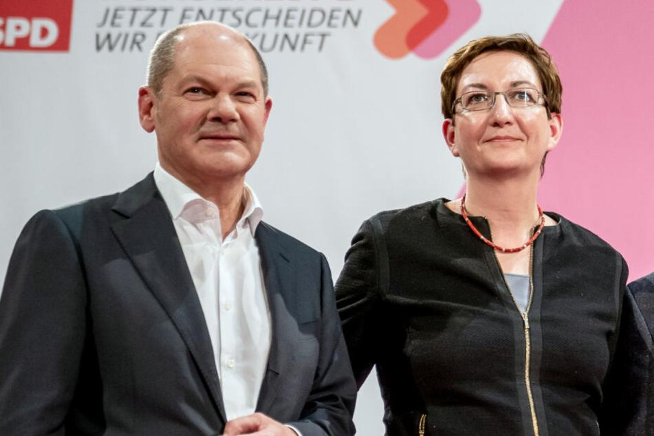 Olaf Scholz (61) und seine Kollegin Klara Geywitz (43) unterlagen bei der Stichwahl.