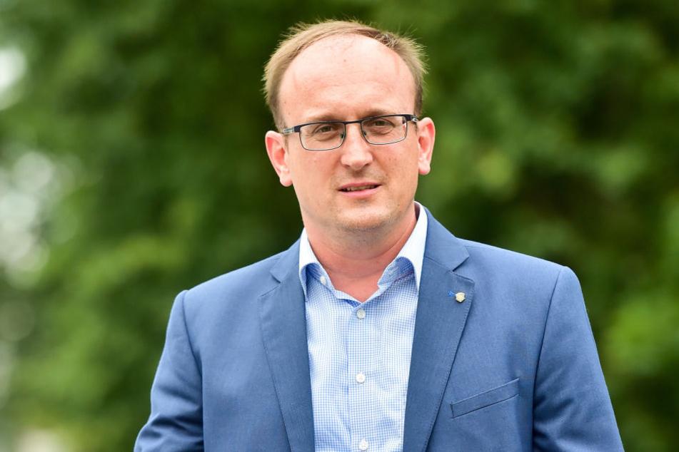 SPD-Stadtrat Jörg Vieweg (46) empört sich über den Antrag gegen den Stefan-Heym-Förderpreis.