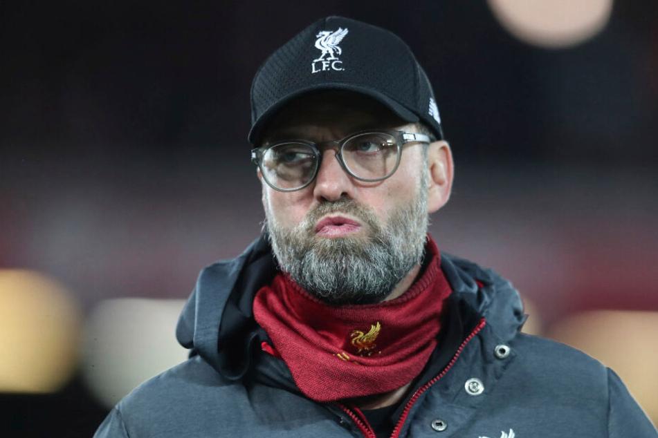 Jürgen Klopp (52) ist indirekt für den Rausschmiss verantwortlich, weil er mit Liverpool den FC Everton besiegte.