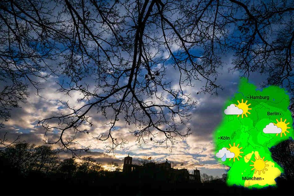 Wetterprognose: Der Föhn sorgt in Bayern für warme Temperaturen.