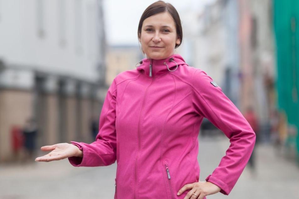 Fordert das Verbot des Unkrautvernichters Glyphosat in Zwickau: Stadträtin Constance Arndt (40/Bürger für Zwickau).