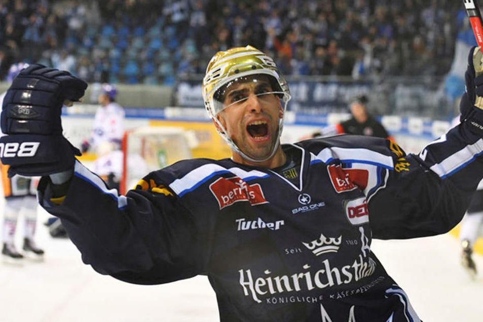 Alexander Höller traf gegen Ravensburg gleich mehrfach.