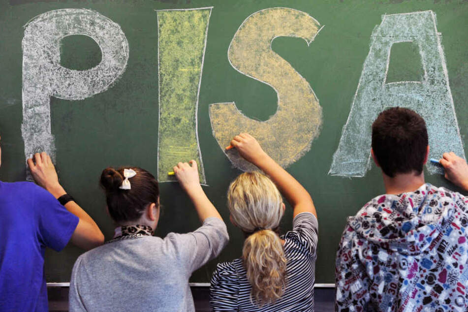 In Mathe und den Naturwissenschaften haben die deutschen Kinder einen Rückschritt gemacht.