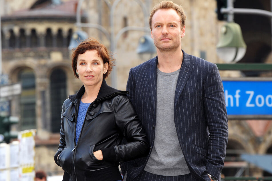 """Meret Becker (52) und Mark Waschke (48) spielen seit 2015 die Berliner """"Tatort""""-Kommissare Rubin und Karow."""