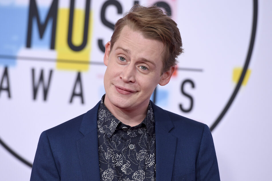 The actor Macaulay Culkin at the 2018 American Music Awards in the Microsoft Theater.