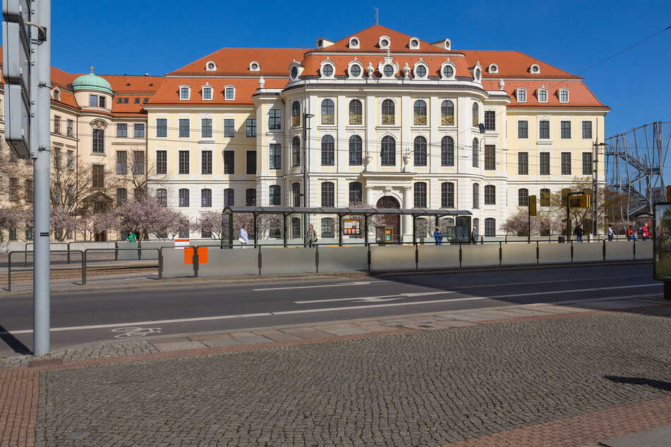 Das Dresdner Stadtmuseum an der Wilsdruffer Straße.