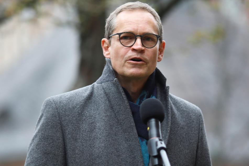 Berlins Bürgermeister Michael Müller (55, SPD).
